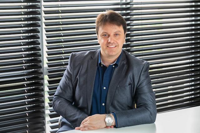 Rodrigo Pimenta é CEO e fundador da empresa HubChain Technologies