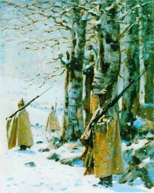 Василий Васильевич Верещагин - Пикет на Балканах. Около 1878