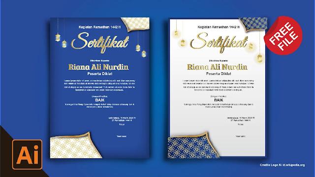 Sertifikat : Contoh Sertifikat Pesantren Ramadhan Gratis