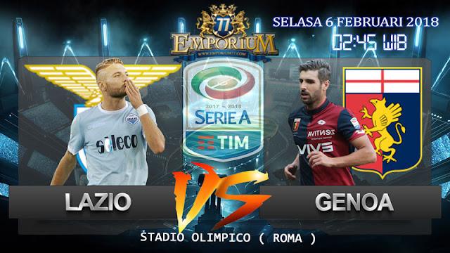 Prediksi Sepakbola Lazio VS Genoa 6 Februari 2018