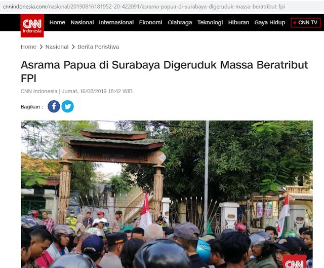 FPI yang Geruduk Asrama Papua, tapi Kenapa Banser yang Dibully? Siapa yang Bermain?