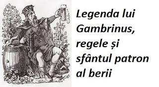 Legenda lui Gambrinus, regele și sfântul patron al berii