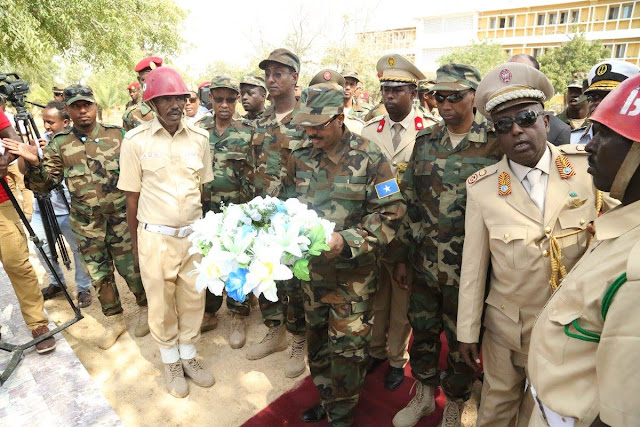 Somalia celebrates its military's 57 years of service