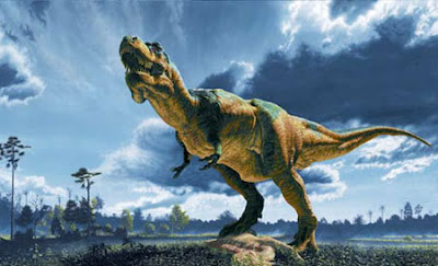 Tiranosaurus.