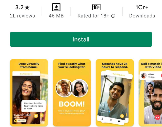 Bumble Make New Friends & Networking App Review 2021
