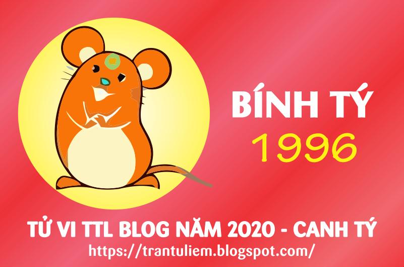 TỬ VI TUỔI BÍNH TÝ 1996 NĂM 2020 ( Canh Tý )
