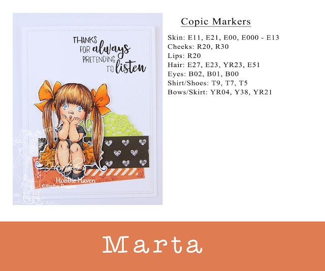 Heather's Hobbie Haven - Mo's Digital Pencil - Marta Card