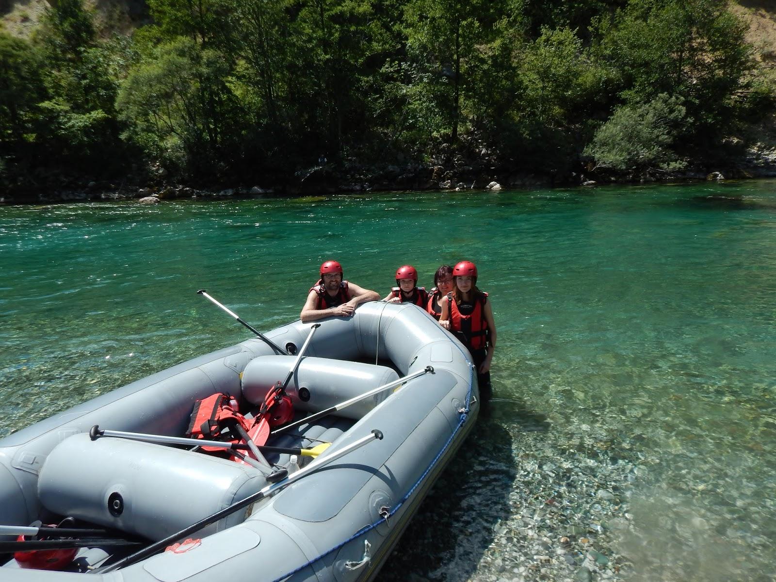 Rafty na řece Piva v Bosně a Hercegovině