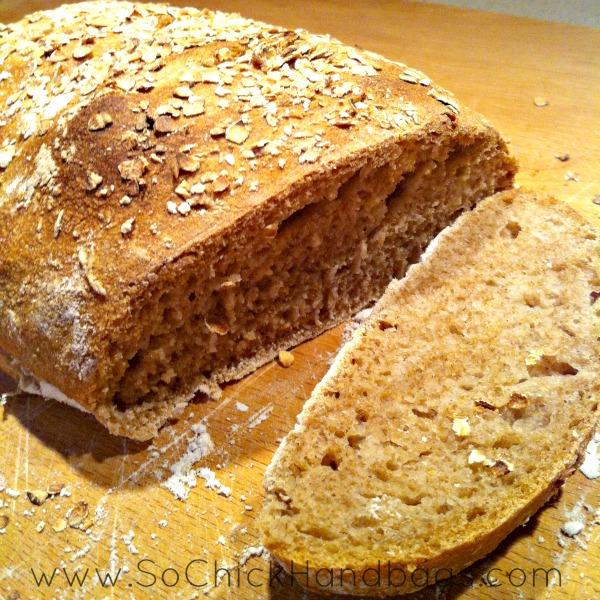 So Chick The Blog A Recipe Whole Wheat No Knead Artisan