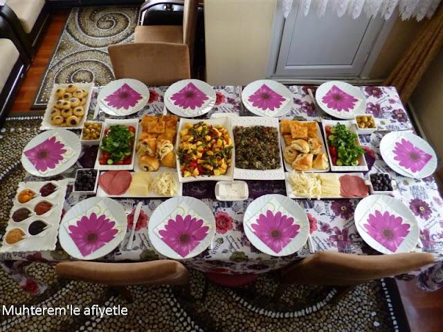 akraba günü kahvaltısı