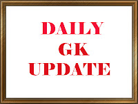 Daily GK Update 3rd October 2016, Important Current Affairs