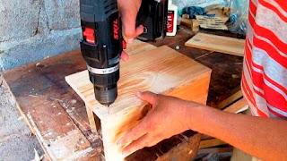 Perforar agujeros para clavar