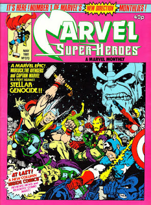 Marvel Superheroes #373, the Avengers vs Thanos