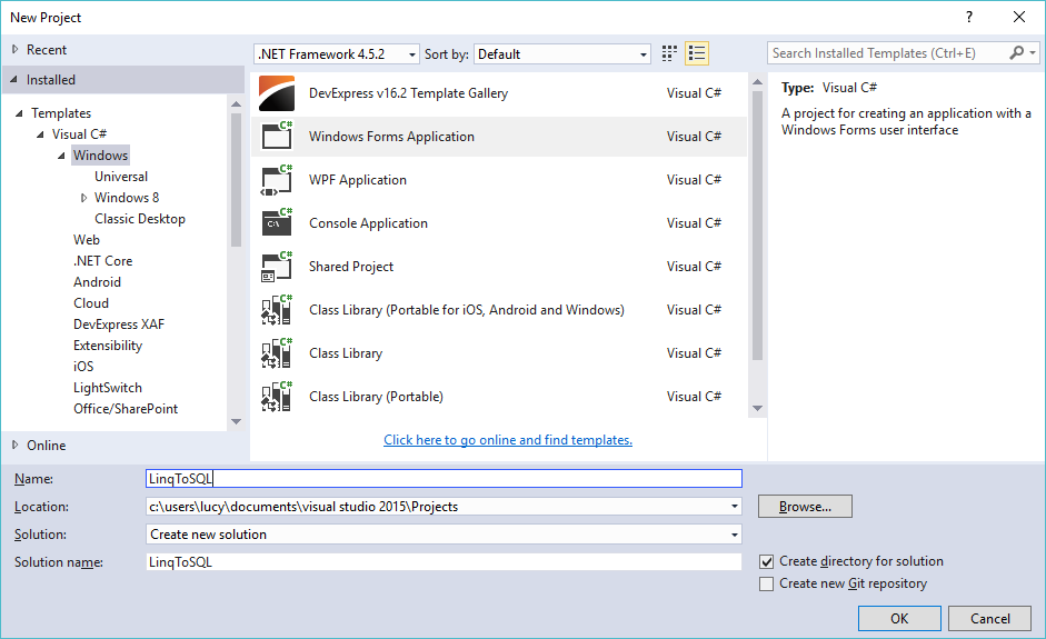 c# linq to sql