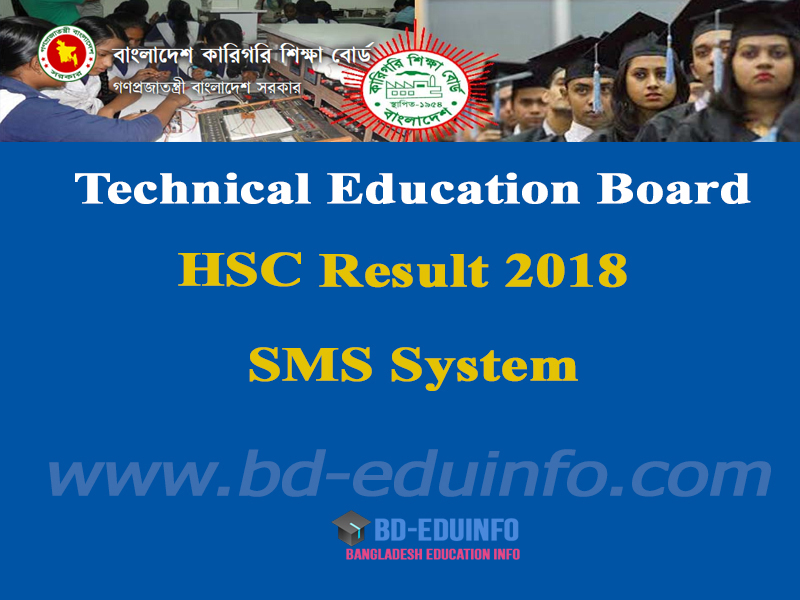 Technical Board HSC Result 2018