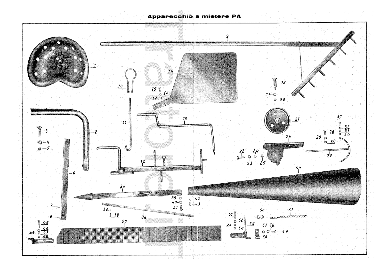 InfoTrattore.it: Falciatrice Laterale Pasquali TZ-ZD