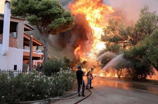 Δήλωση του Δ. Κουτσούμπα για τις πυρκαγιές που κατακαίνε τη χώρα