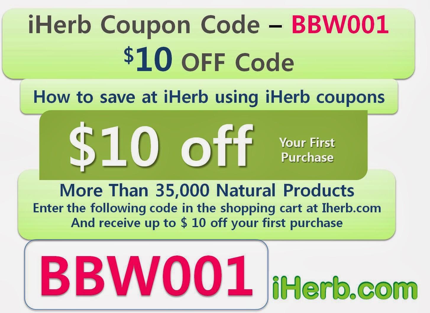 Iherb new customer discount