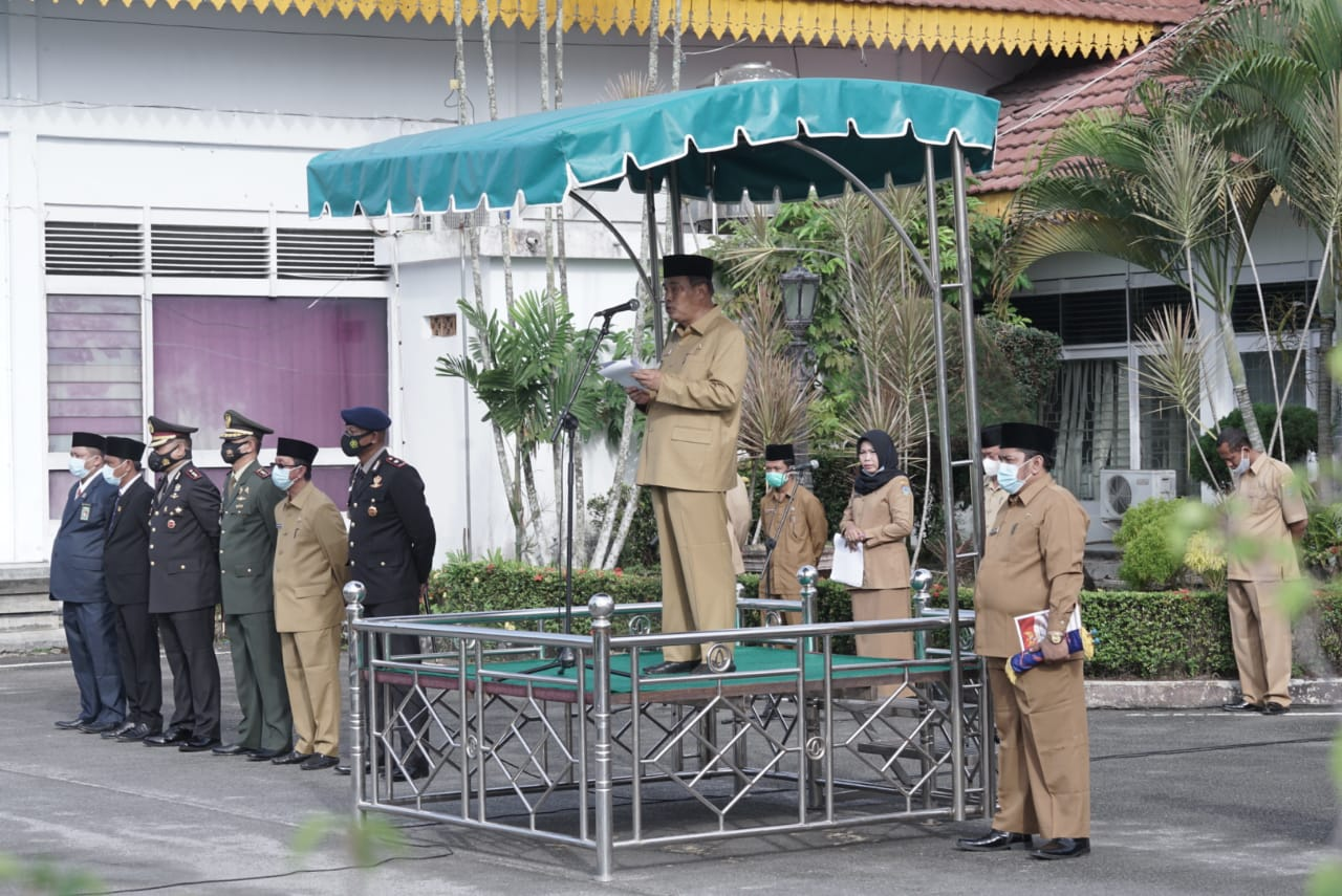 Peringati Peristiwa Berdarah 13 Desember, Pemko Tebingtinggi Lakukan Ziarah ke Makam Pahlawan dan Upacara di Balai Kota