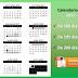 Calendarios Escolares 2017 - 2018 de 180, 195 y 200 días