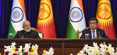 India and Kyrgyzstan sign 15 agreements Full List With Details