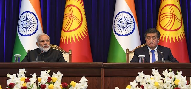 India and Kyrgyzstan sign 15 agreements View Full List With Details