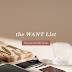Introducing the WANT List - Holiday 2017 Collection from WANT Les Essentiels