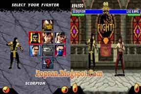 SAEPUL net: Ultimate Mortal Kombat 3 Java Games