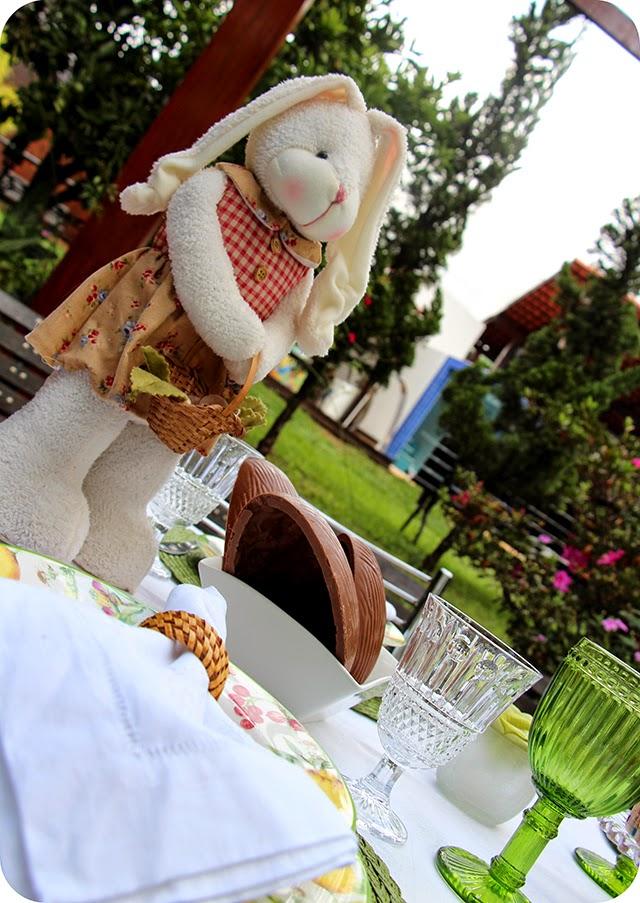 Mesa Almoço do Domingo de Páscoa
