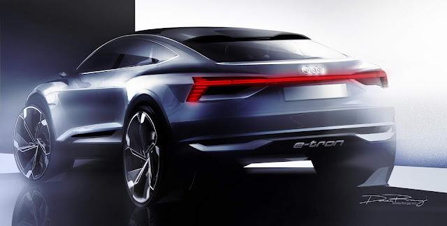 Audi e-Tron conceitual não SUV será mostrado em Shanghai