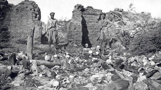 Turkey Germany Ottoman Nazi genocide eugenics crime Armenia secret society freemasonry