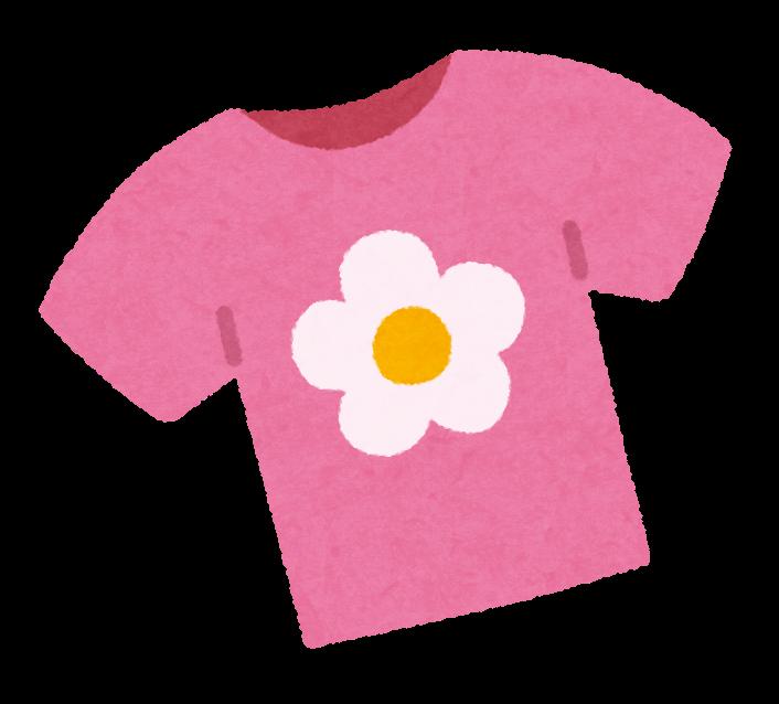 女の子のシャツのイラスト子供服 かわいいフリー素材集 いらすとや