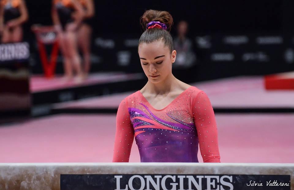 silvia gymnastics meet score