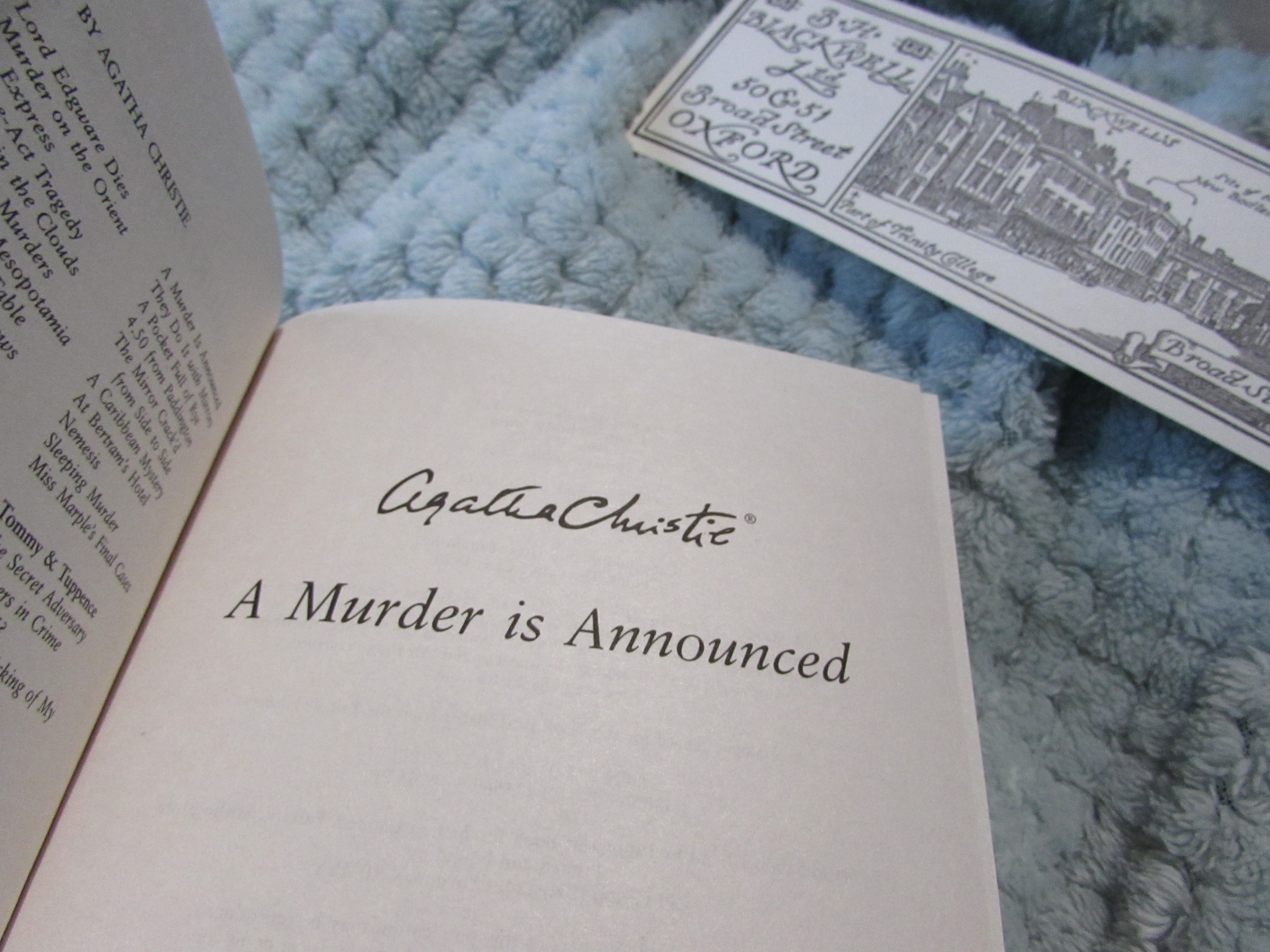 A Weekend of Reading | Just Mercy, Agatha Christie, and More
