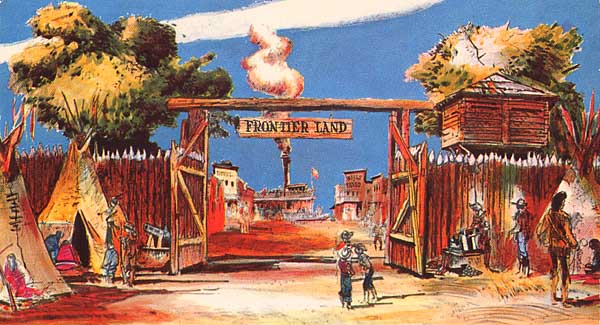 O.C. History Roundup: Disneyland: Steps In Time, Frontierland