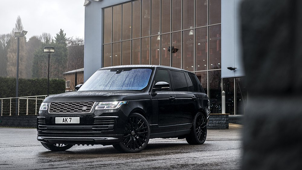 Khan Automobiles Show Off Their Latest Tuned Range Rover