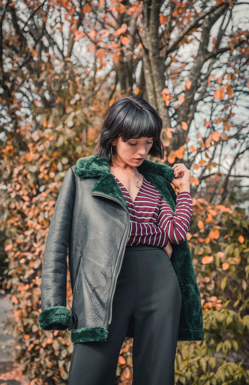 how-to-style-aviator-jacket