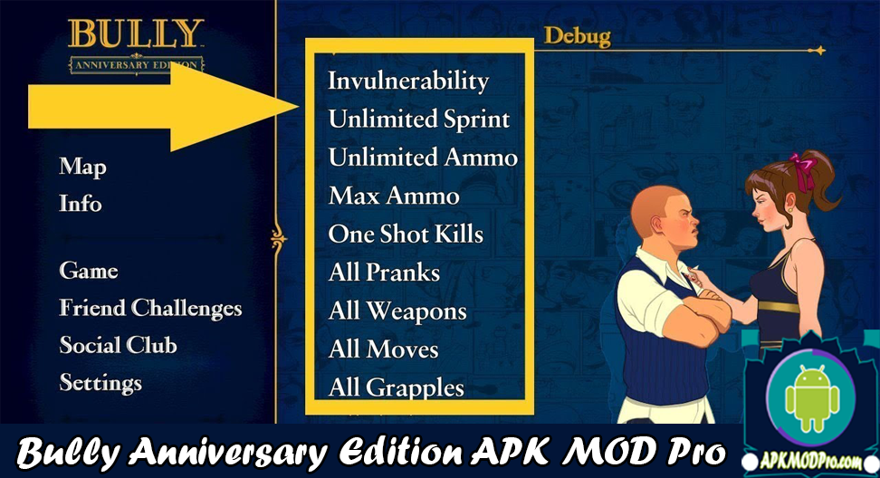 Download Bully Anniversary Edition MOD APK v1.0.0.19 Terbaru 2020