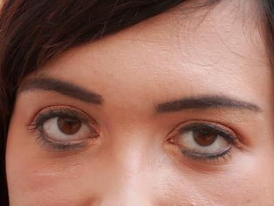 Plusieurs exemples de maquillage d'automne