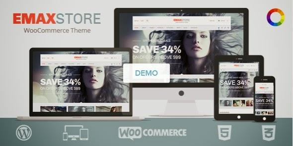 2015 Responsive WooCommerce Theme