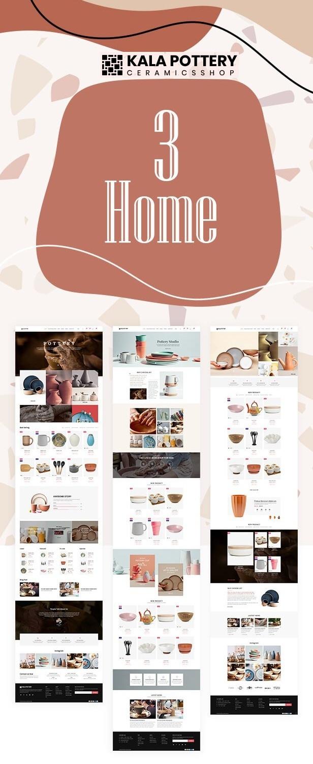 Ceramics Shop Responsive Shopify Theme