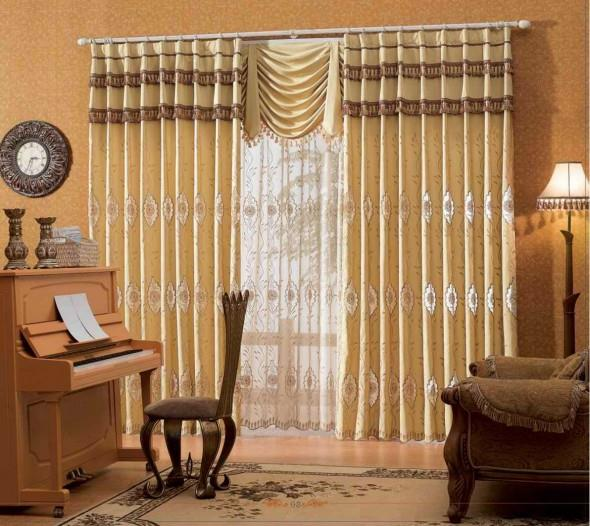 Awesome Modern curtain designs 2016 curtain ideas colors, for family room