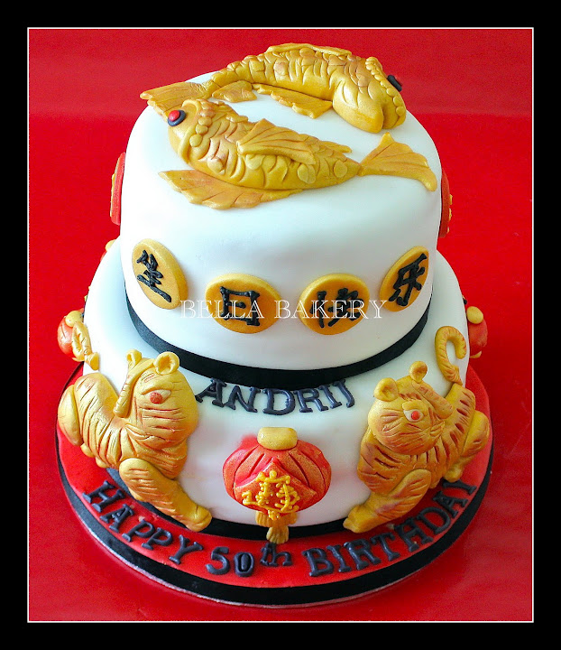 -: CHINESE & ASTROLOGICAL SIGN CAKE