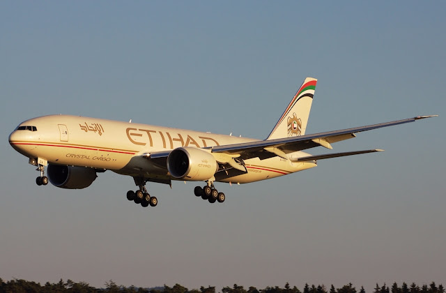 Etihad Cargo Receives New Boeing 777F