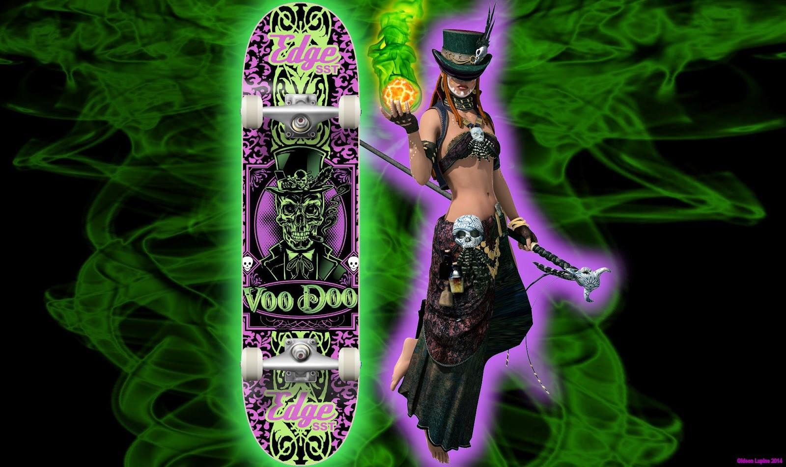 Baron Voodoo Skateboard