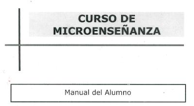 Curso de microenseñanza