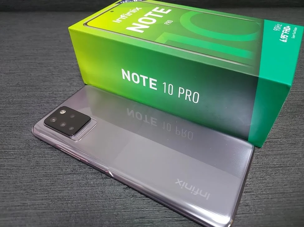 Infinix Note 10 Pro Lilac Colorway
