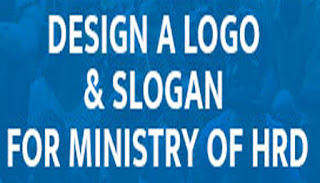 Ideas For Designing a Logo and Slogan for Ministry of HRD Competition