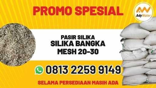 Promo silika Bangka mesh 20-30