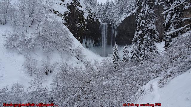 Tamanawas Falls Oregon